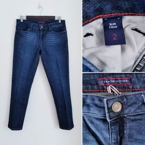 TOMMY HILFIGER Slim Crop Jeans, 2